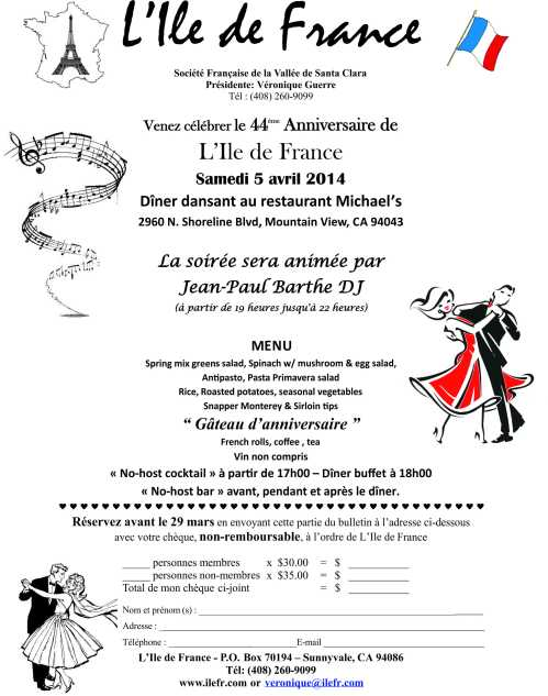 Bulletin - mars - anniversaire-2014_1